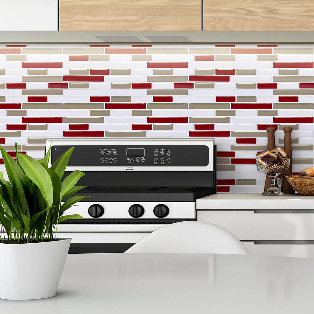 Red Tiles For Kitchen Rumah Joglo