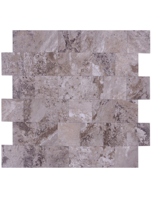 peel and stick grey marble subway tile