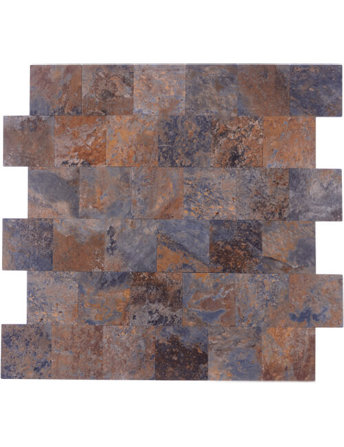 peel stick slate stone subway tile