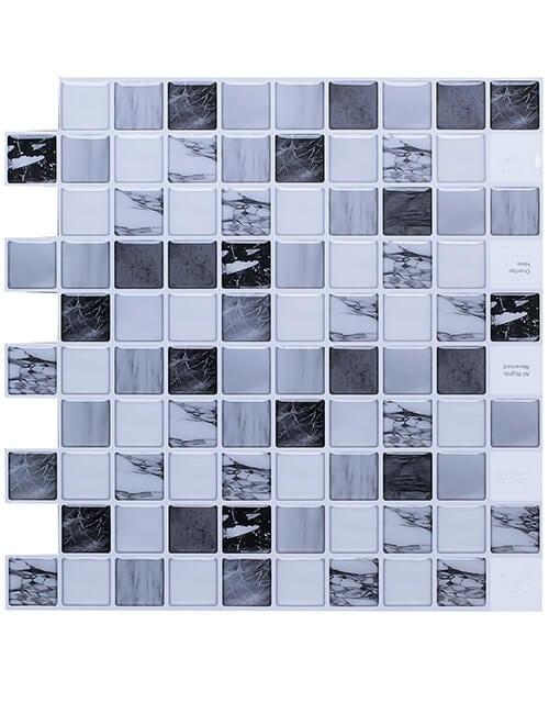 self-adhesive luxury marble slab backsplash