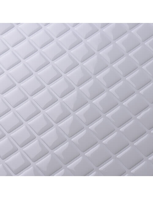 white square mosaic tile