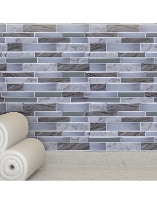 home decoration grey oblong tile