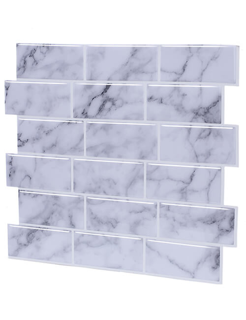 peel and stick grey subway tile