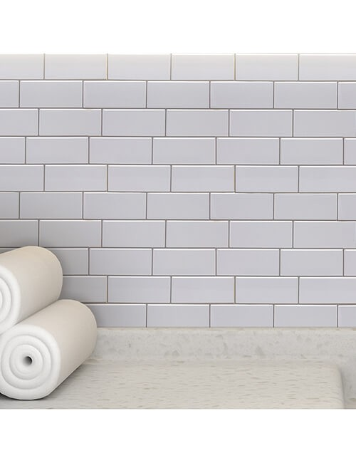 wall decoration peel stick subway tile