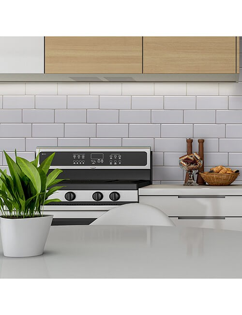 peel stick kitchen subway backsplash