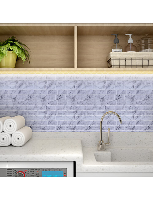 peel and stick grey mosaic tile