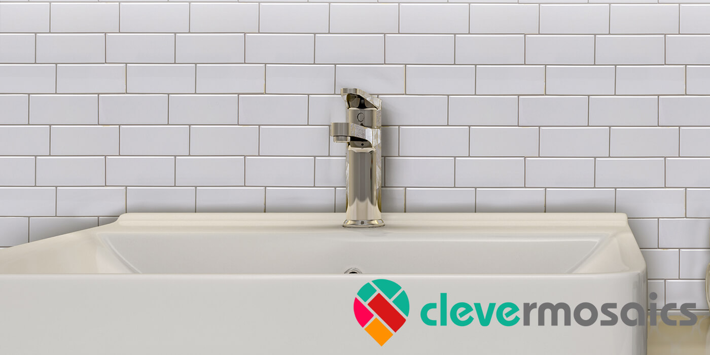 peel stick vinyl subway tile for bathroom wall mosaic