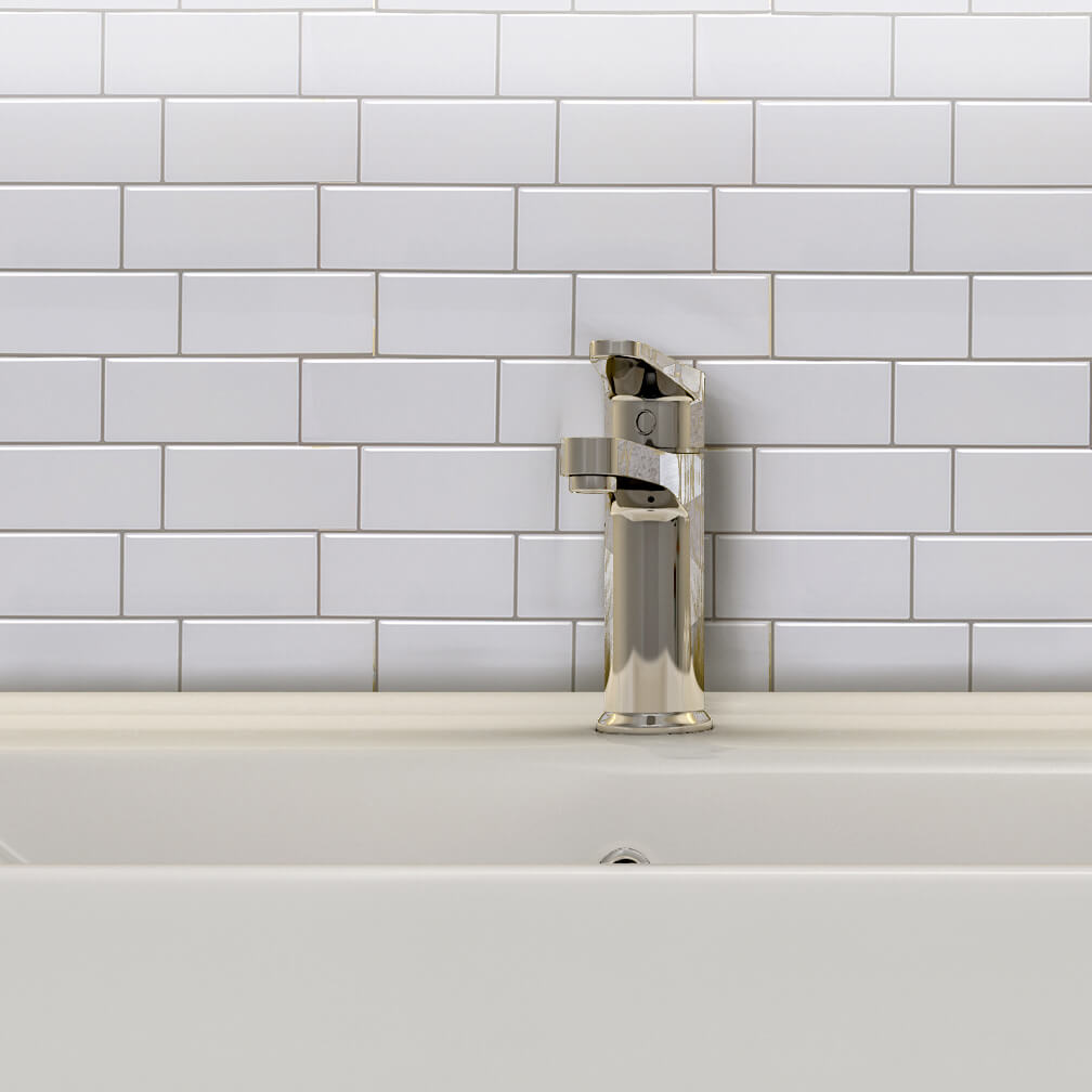 white subway tile backspalsh ideas