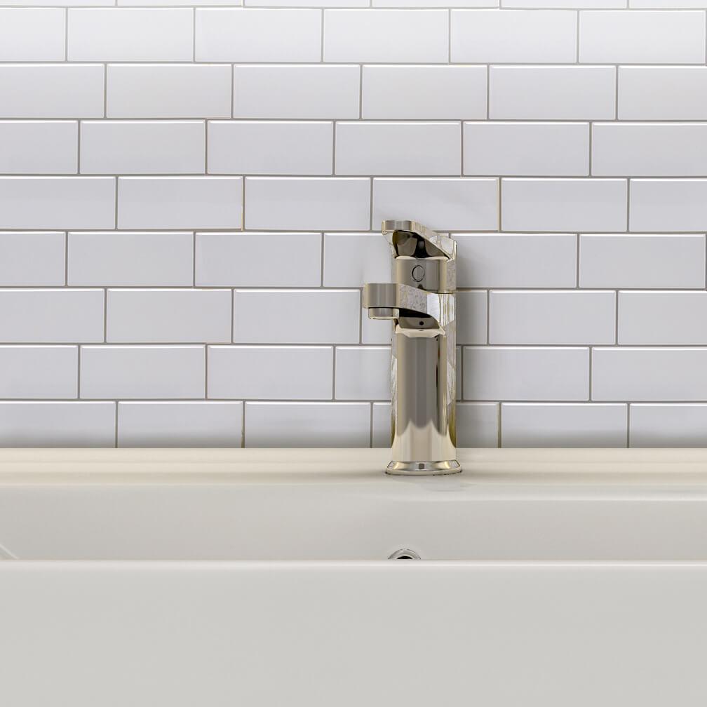 white subway tile backspalsh ideas