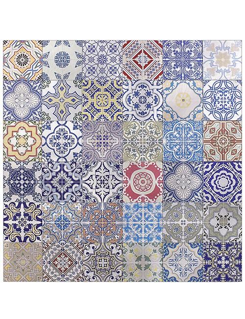adhesive moroccan tile