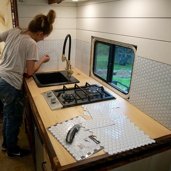 lightweight rv backsplash