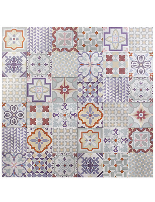 peel and stick moroccan tile