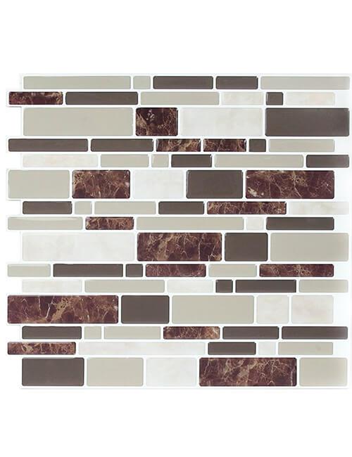 self-adhesive backsplash tile
