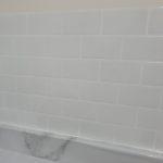 Pure White Peel Stick Subway Tile 12 x 12 inch CM90103 photo review