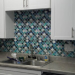 peel and stick lantern tile for backsplash
