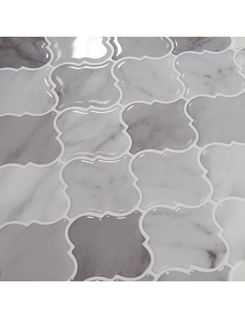 high gloss marble arasbeque tile