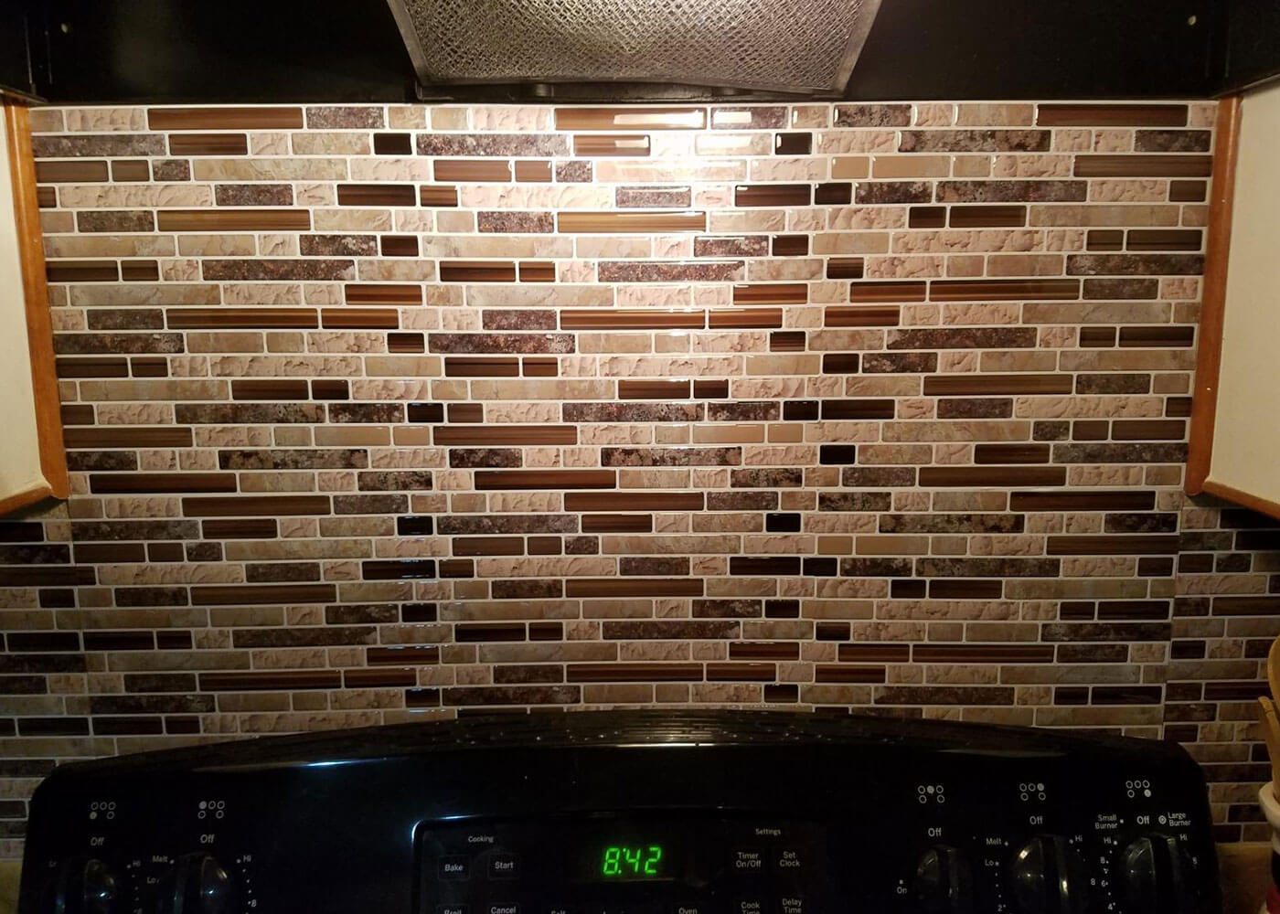peel and stick vinyl stone for kitchen backsplash