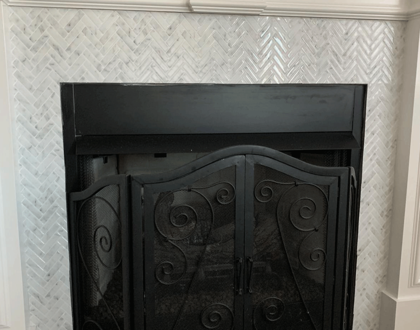peel and stick fireplace tile sticker