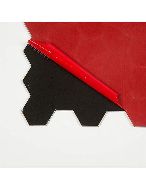 self adhesive hexagon tile