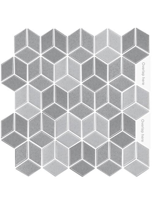 3d vinyl cubic tile