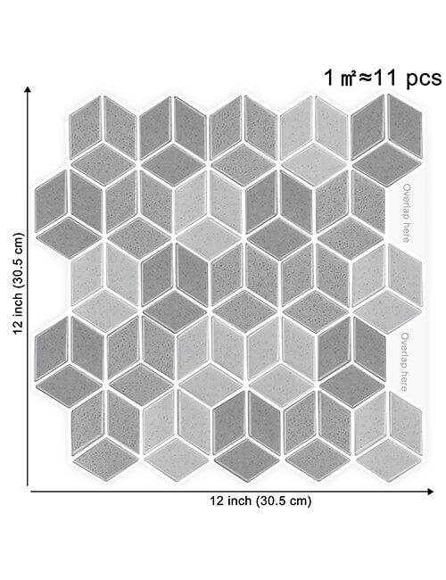 big size cubic vinyl tile