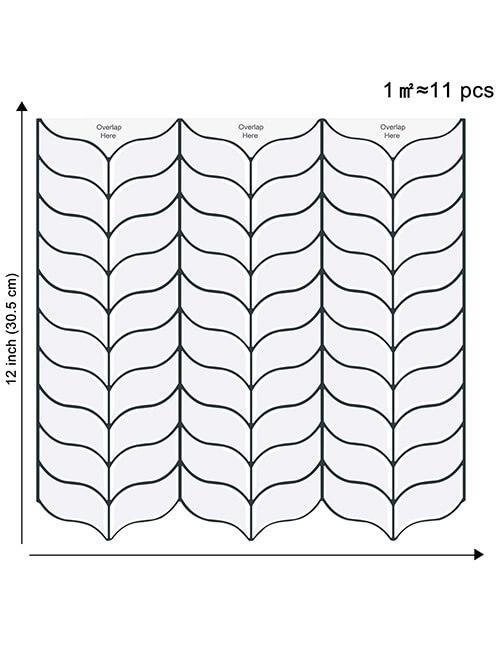 leaf tile 12 x 12inch