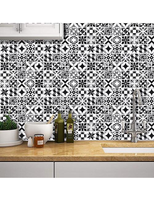 kitchen backsplash moroccan tile sticker