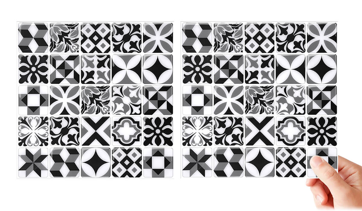 easy to lay peel and stick mosaic moroccan tile