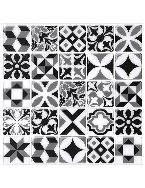 moroccan vinyl tile sticker