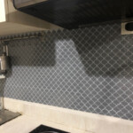 Adhesive Lantern Mosaic Vinyl Tile CM80504C (6pcs pack) photo review